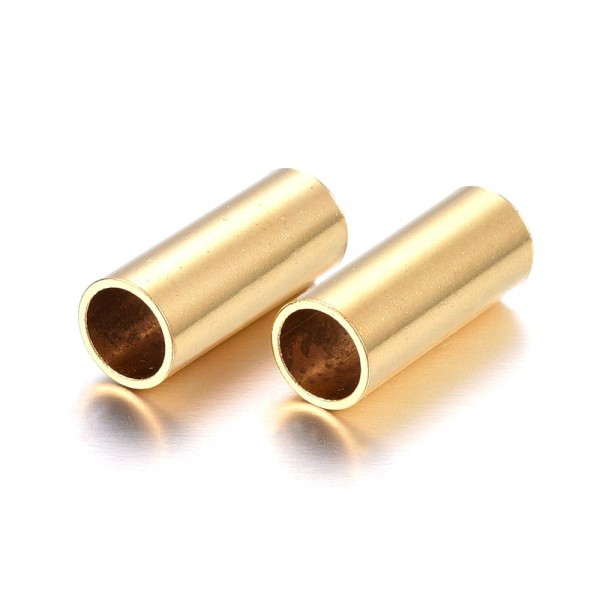 Edelstahlhole golden 5 x 17 mm