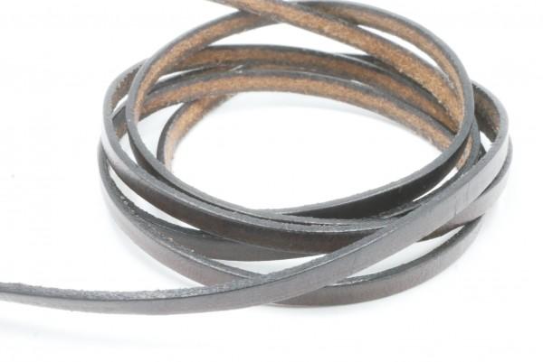 Leder 3,3mm x,1,2mm Bänder, braun, Material, Lederband,