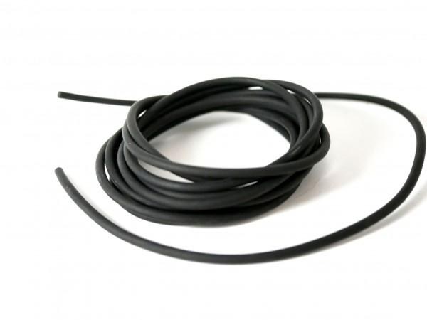 Kautschukband 3mm schwarz, 2 Meter ( SCH2/5)