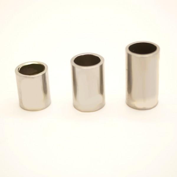 Hülse, Edelstahl Rohr, innen: 6mm, außen: 8mm, verschiedene Längen (K/3-A5-6-7)