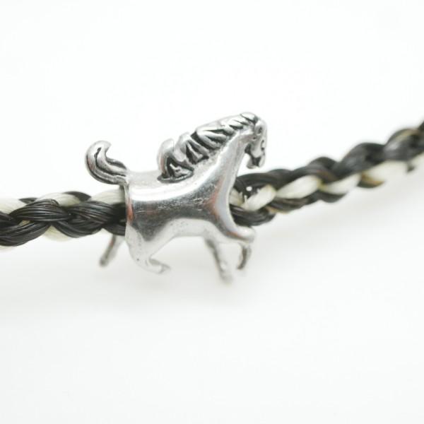 Pferd Modulperle , Edelstahl, 5009
