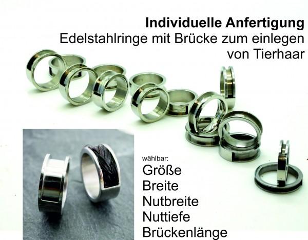 Zirkonia für DIY-Pferdehaarschmuck.de , Pferdhaar Ring, Schweifhaar Schmuck