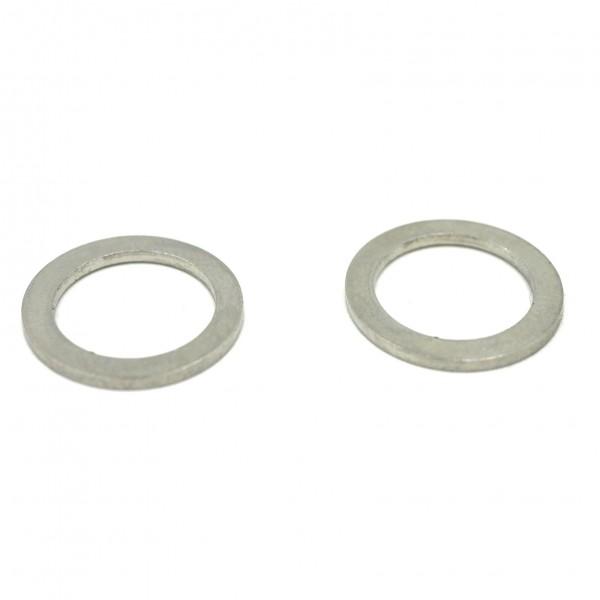 runde Scheibe Edelstahl Ring, 15mm innen: 11mm (K/7-D6)