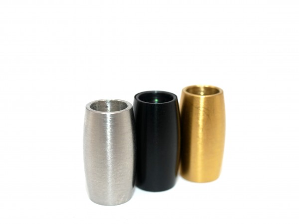 Z-V-8042 oval Magnetverschluss innen 5mm gold schwarz