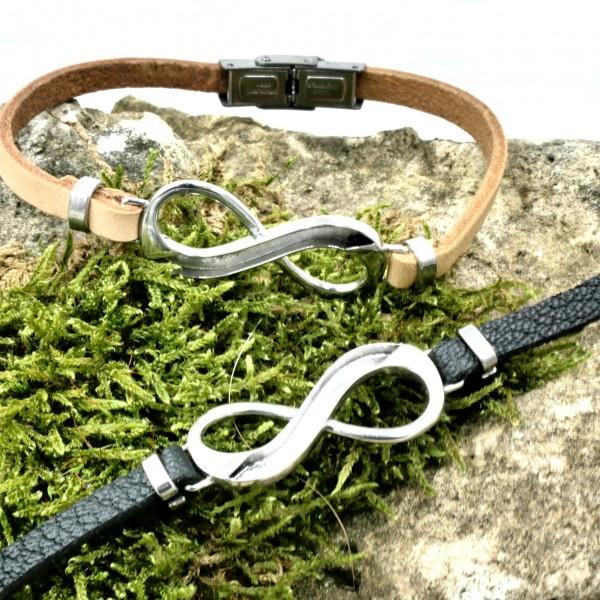 Infinity Zwischenteil -Armband für Pferdehaarschmuck DIY von Gutelauneschmuck.de