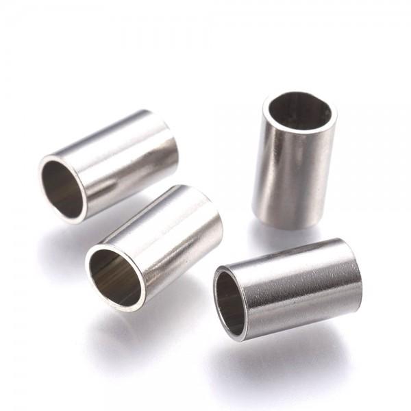 Edelstahl-Hülse, Di:5mm, Länge:10mm, poliert ( K3/A2)