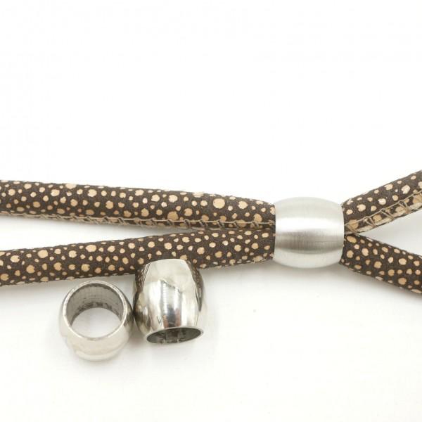Edelstahl perle, Olive XL -PF-H-5049